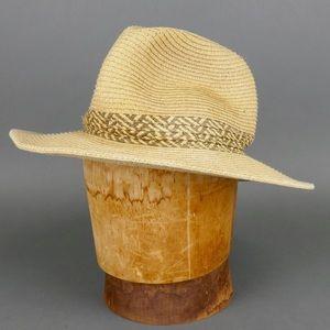 C.C. Wide Brin Fedora Sun Beach Hat